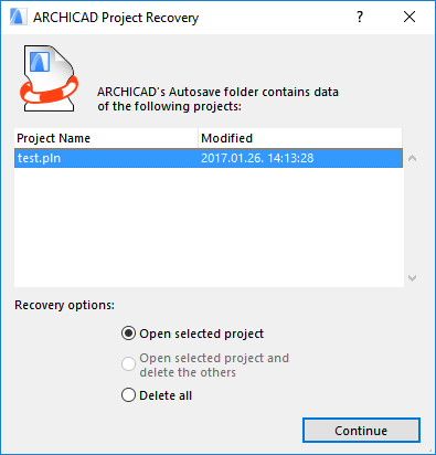 ACprojectRecovery